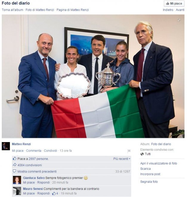 Renzi cambia verso
