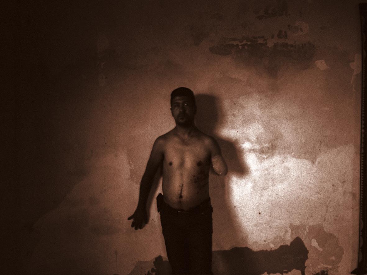 Pietro Masturzo, Nabil, Striscia di Gaza, 2015