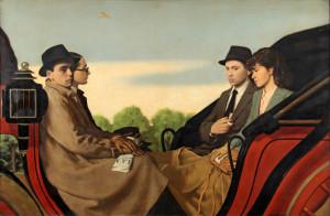 Antonio e Xavier Bueno La carrozza, ovvero Passeggiata alle Cascine,  1942