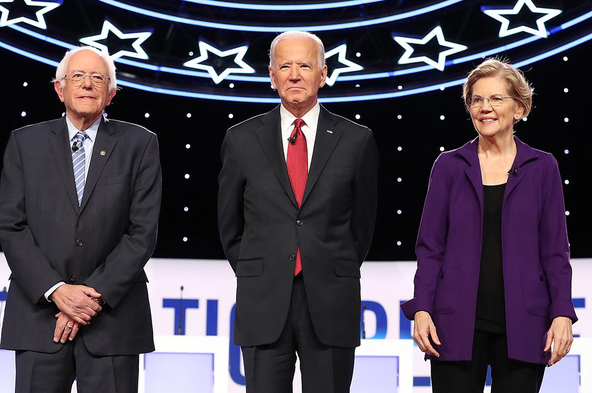 La corsa dell'asino azzoppa Sanders